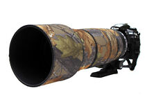 Sigma 120 300mm f2.8 OS neoprene lens protection camo cover English Oak