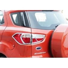 FIT FOR FORD ECOSPORT 2014-2016 SUV CHROME COVER TAIL LIGHT LAMP TRIM