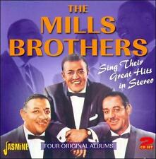 Sing Their Greatest Hits In Stereo by The Mills Brothers (CD, Feb-2011, 2...