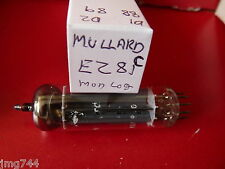 EZ81 MULLARD  MODERN LOGO C  NEW OLD STOCK  VALVE TUBE  MA15