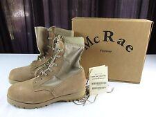USGI McRae Desert Tan Marine Hot Weather TYPE II Combat Boots Mens 12 1/2 XW NOS