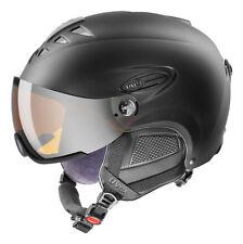 UVEX  Ski Helm 300 VISOR  Fb.black mat Gr. 60 - 61 cm :NEU: 2016 - 2017