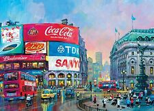 NEW! Clementoni London - Piccadilly Circus 1000 piece city scene jigsaw puzzle