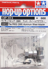 Tamiya 53913 RC The Frog Aluminum Wheel Adapter Set For Grasshopper/Hornet OP913
