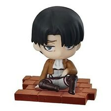 Attack on Titan Sitting Collection Trading PVC Desk Figure Levi Ackerman @1921