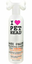 Pet Head White Party Dog Shampoo 354ml Brightening Shampoo With Argan Oil