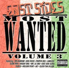 East Side S Most Wanted Vol 3 CD NEW