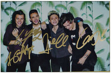 Signed One Direction OneDirection in-album Photo Hand Autograph Authentic 0828A