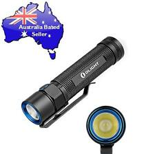 OLIGHT S2 Baton 950Lumens Cree XM-L2 Side-switch LED Flashlight use CR123A 18650