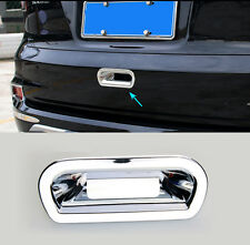 FIT FOR HONDA CRV CHROME REAR TRUNK BOOT DOOR HANDLE BOWL COVER TRIM TAILGATE