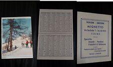FC156_MIGHETTO PASTICCERIA _PICCOLO CALENDARIO PUBBLICITARIO_TORINO 1968
