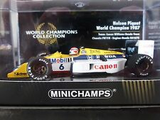Minichamps 1:43 Nelson Piquet Williams FW11B World Champions Collection 1987
