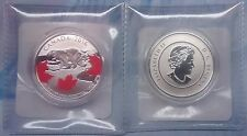 TRUE NORTH $25 Pure Silver Coin Canada 2016: Majestic Polar Bear & Maple Leaf.