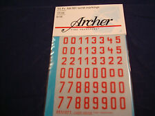 ARCHER FINE TRANSFERS DECALS SS PZ. ABT 501 RED TURRET MARKINGS AR35099R 1:35