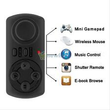 Wireless Bluetooth 3.0 Game Gamepad SELFIE Camera Remote Control For IOS Android