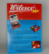 Wilesco 2 pagina CATALOGO 2012