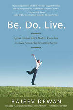 BE  DO  LIVE..RAJEEV DEWAN..SOFTCOVER...LIKE NEW
