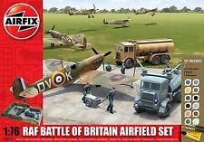 Airfix A50015 RAF batalla de Gran Bretaña aeropuerto Set 160 parte Kit Plástico Escala 1:76