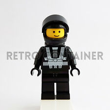 LEGO Minifigures - 1x sp001 - Blacktron I Astronaut - Space Omino Minifig