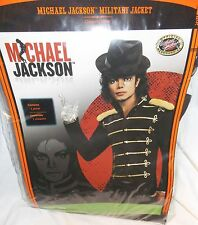 Adult Michael Jackson Military Jacket Costume Mens Size XL 42-46  NEW