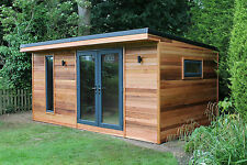 5m by 3m Garden Room / Home Office / Studio / Summer House / Log Cabin / Chalet