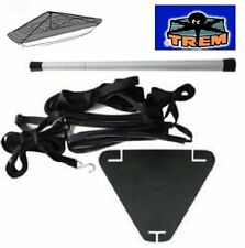 TREM Boat Cover Support Pole Stand Kit with Webbing Straps Fits Most Covers