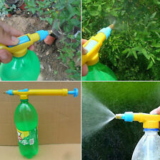Universal Jet Spray Gun Bottle Water Sprayer Head Gun Garden Fertilizer