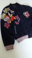"""Harlem Globetrotters Jacket """"WORLD TOUR"""" Players Jacket Worn by the PLAYERS 2X"""