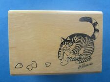 KLIBAN CAT Rubber Stamp CAT GATHERING HEARTS Valentine Kodomo No Kao