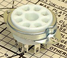 8 Pin Octal Cup Contact Ceramic Tube Socket For Guitar Amps 6L6GC BARGAIN