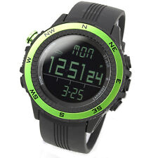 LAD WEATHER German Sensor Altimeter Green Weather Forecast Compass Outdoor Watch