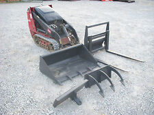 2012 Toro Dingo TX427 Mini Skid Steer with Tooth Bucket and Forks - Ship $500
