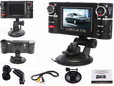 2.7in. TFT LCD Dual Camera Rotated Lens Car DVR Vehicle Video Recorder Dash Cam