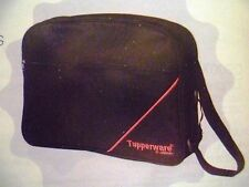 "Tupperware Free Shipping New Consulting Black Bag 15""x11""x8"""