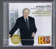 ANDRE PREVIN RENEE FLEMING BARBARA BONNEY (CD NEW) DIVERSIONS SONGS