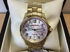 New - Reloj Watch Montre GEORGE J VON BURG - Steel Gold Plated - Automatic - Box