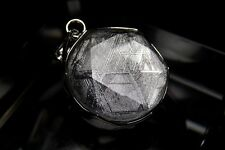Gibeon Meteorite 925 Sterling Silver Star of David Pendant(17.0mm) GBP-002