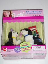 Barbie Pet Lovin' Puppy Twin Old English Sheepdogs with Alpo!
