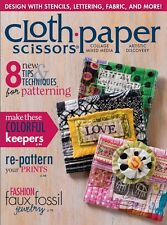 Cloth Paper Scissors Magazine January/February 2015 (Originally £5.50)