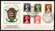Prinzessin Caroline. FDCx5W(1). Monaco 1957