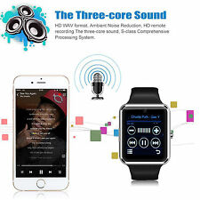 Sweatproof Bluetooth Smart Watch With NFC GSM Standalone Function For Smartphone