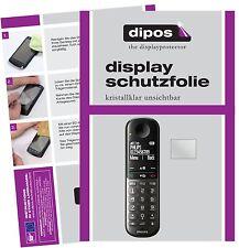 2x Philips XL495 Protector de Pantalla protectores transparente dipos