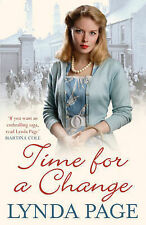 Lynda Page Time for a Change Very Good Book