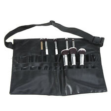 Cosmetic Makeup Brush Apron Artist Belt Strap Holder Bag Case PVC Professional