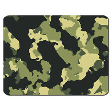 VERDE MIMETICO ESERCITO MILITARE MARINA PATTERN PC COMPUTER MOUSEMAT TAPPETINO MOUSE PAD