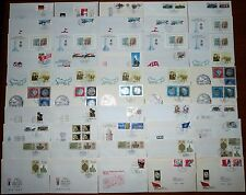 62x Brief DDR FDC 1986 Ersttagsbrief Lot Posten Sammlung SST (43