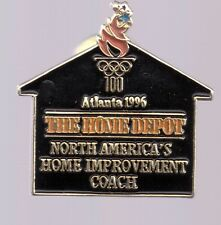 1996 Home Depot Atlanta Olympic Pin Home Improvement Coach