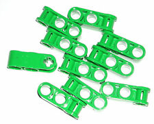 LEGO 10 Bright Green Technic Mindstorms Axle Pin Connectors 3L 42039
