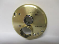 USED SHIMANO BAITCASTING REEL PART - Calcutta 151 - Left Side Plate #C