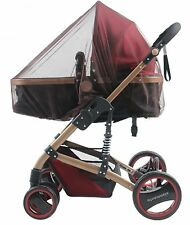 coffee Insect Cover Mosquito net for Pram/Stroller Accessory brand new